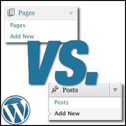 WordPress Help, WordPress Pages, WordPress Posts