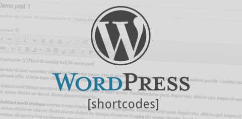 WordPress Shortcodes Plug-ins.