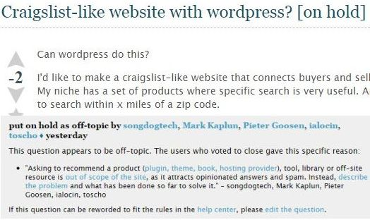Fixing WordPress Support Problems