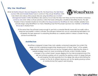 WordPress Security White Paper