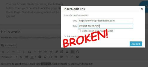 WordPress 4.2 Breaks Title Tags, SEO, and More