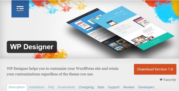 WP Designer: OWN your Themes, Functions, and CSS