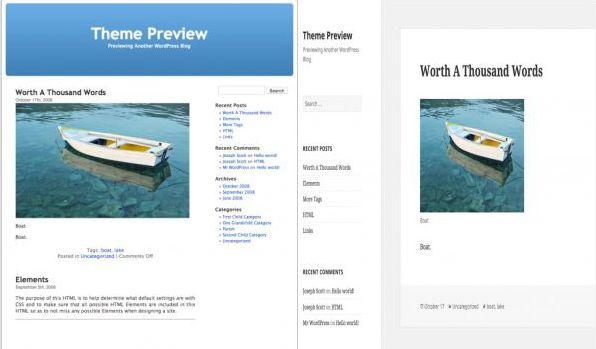 WordPress Theme Evolution