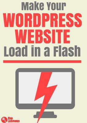 Getting Fast WordPress Load Speed