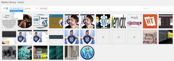 WordPress Image Handling by the WordPress Media Library
