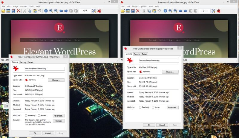 WordPress Image Handling