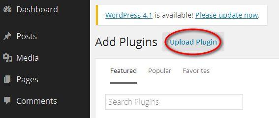 Where May I Upload WordPress Plugins?